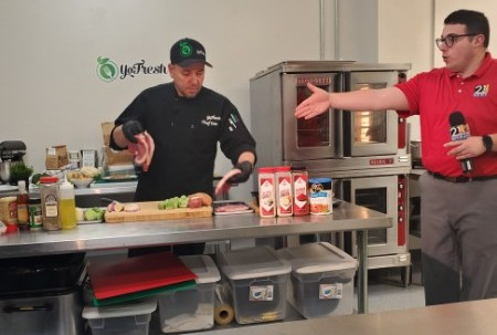 Chef Don Live with 21 WFMJ: Shake and Bake Pork Chops