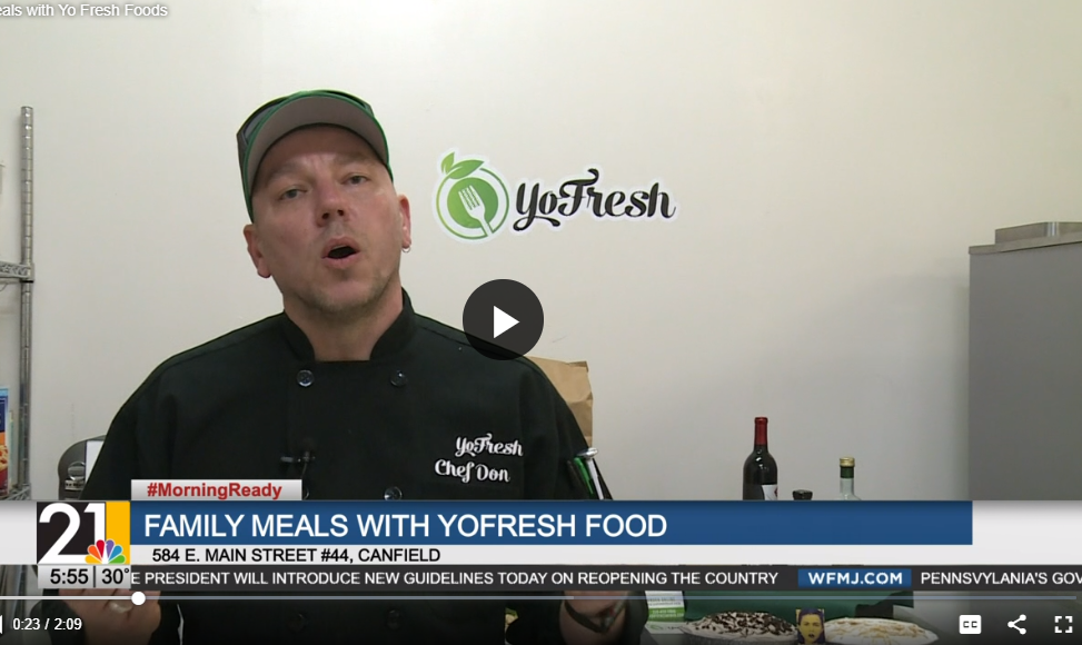 21 News Feature | Hot and Ready Mid-Week Meals with YoFresh Food