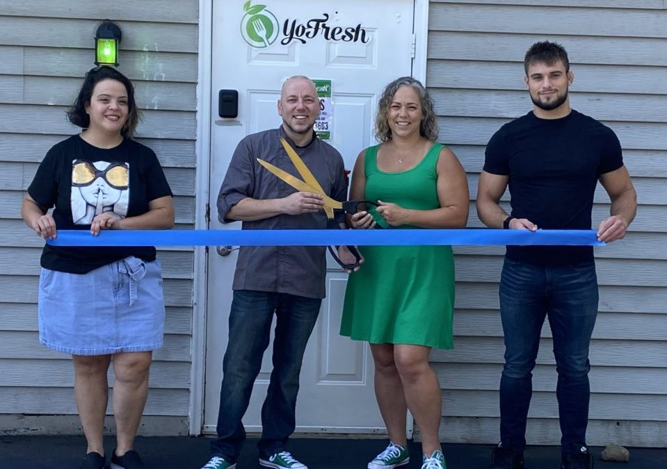 YoFresh Ribbon Cutting Was Held August 17th