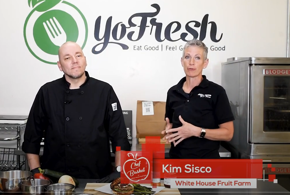 Watch: YoFresh Chef Basket Featured at WhiteHouse Fruit Farm!