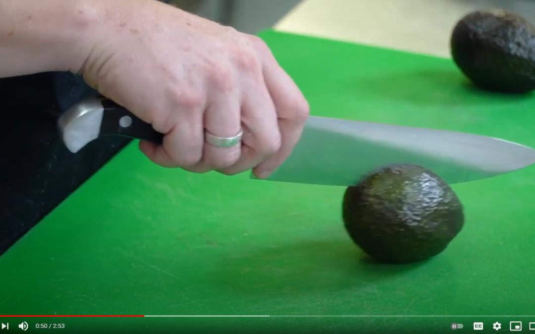 Watch: Fresh Cuts #7: How to cut an Avocado